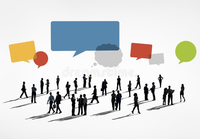 Geschäfts-Zusammenarbeits-Kollege-Besetzungs-Partnerschafts-Konzept lizenzfreie abbildung