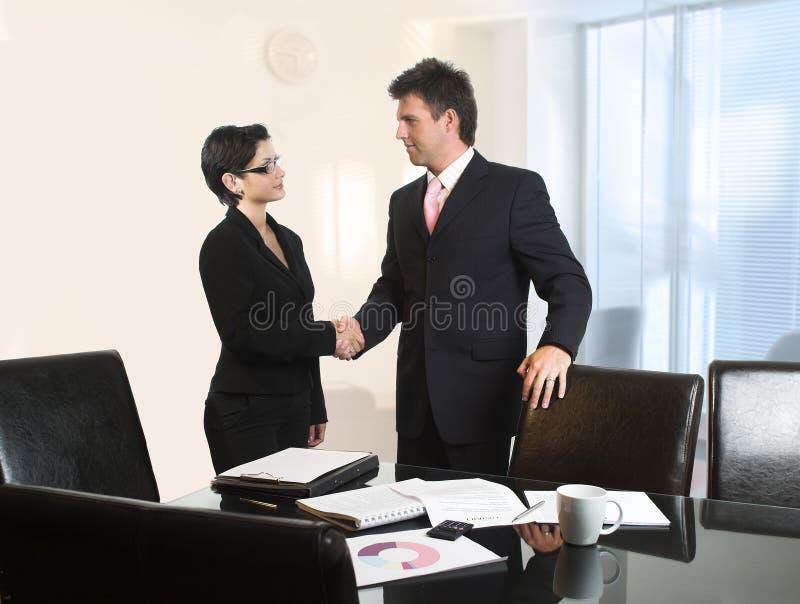 Geschäftsabkommen stockfotografie