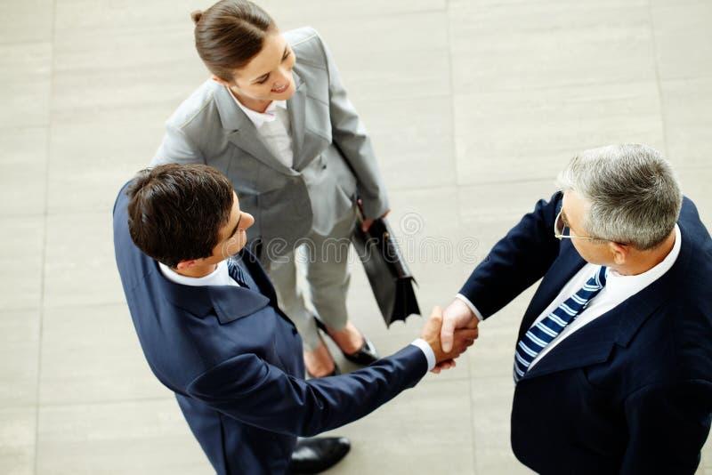 Geschäftsabkommen stockfoto
