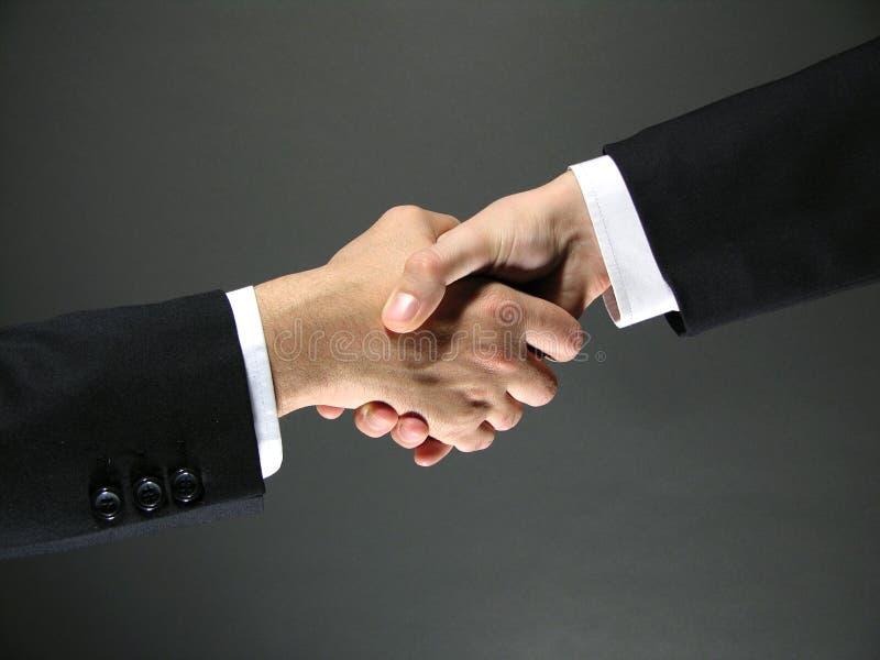 Geschäftsabkommen lizenzfreies stockbild