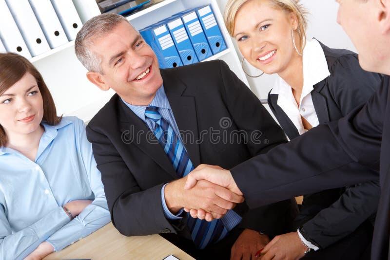 Geschäftsabkommen stockfotos