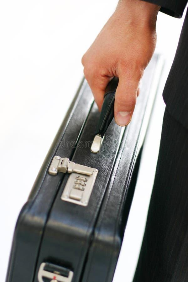 Geschäftsaktenkoffer stockfotografie