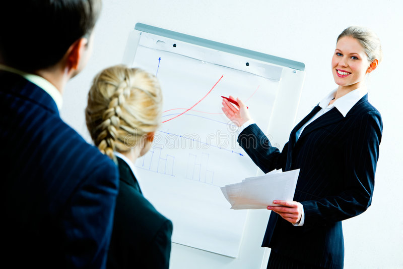 Geschäftsausbildung stockfoto