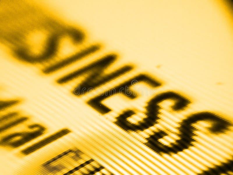 Geschäftsbildschirmschuß lizenzfreie stockfotografie