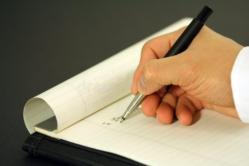 Geschäftsbrief lizenzfreies stockbild