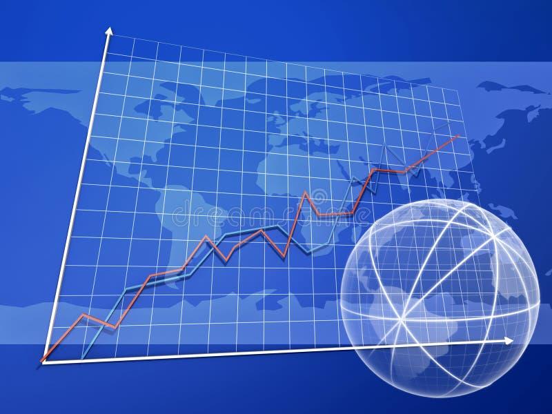 Geschäftscollage stock abbildung
