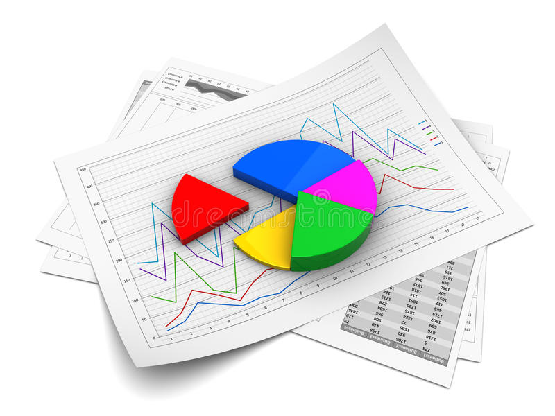 Geschäftsdarstellung vektor abbildung