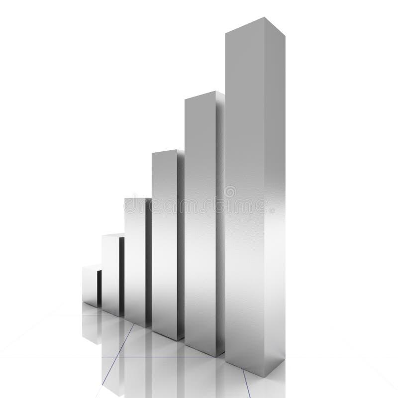 Geschäftsdiagramm vektor abbildung
