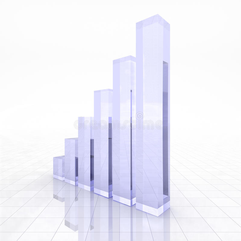 Geschäftsdiagramm lizenzfreie abbildung