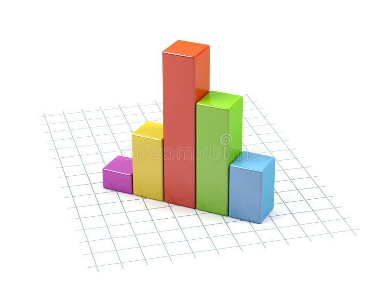 Geschäftsdiagramm. vektor abbildung