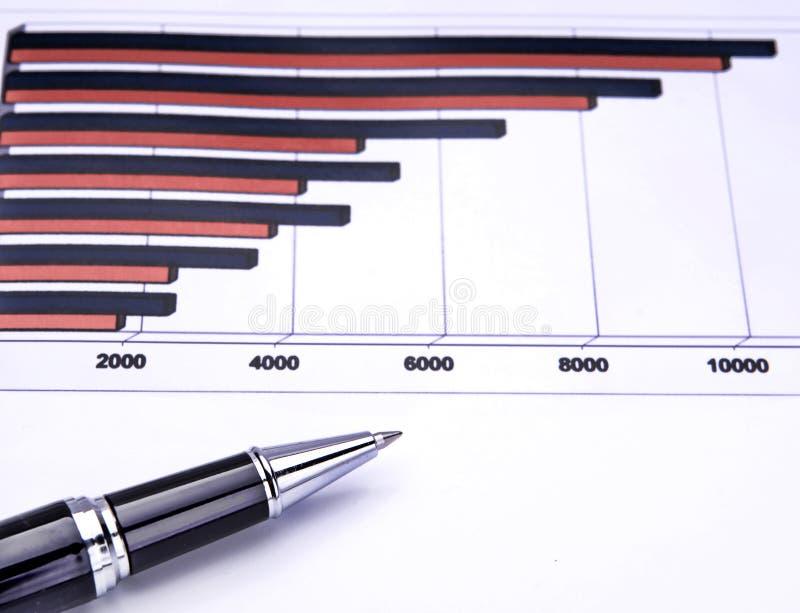 Geschäftsdiagramm Kostenlose Stockbilder