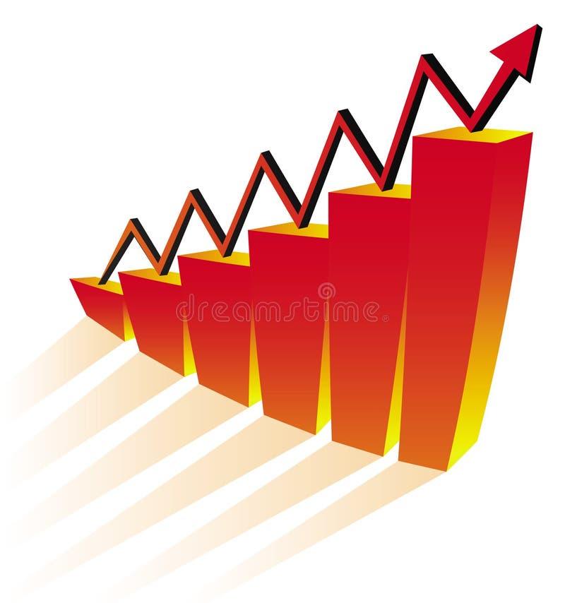 Geschäftsdiagramm Kostenloses Stockbild