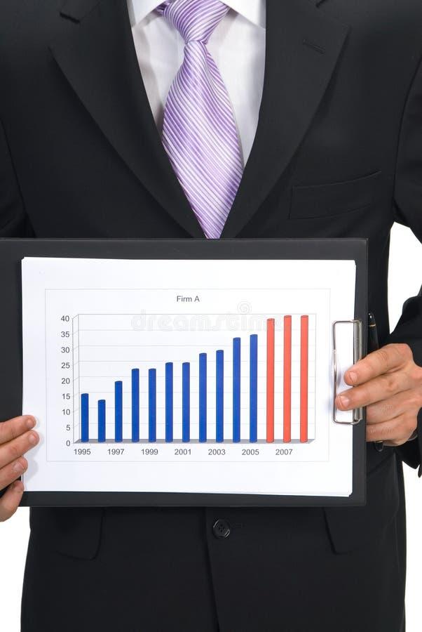 Download Geschäftsdiagramm stockbild. Bild von prognosen, märkte - 865945