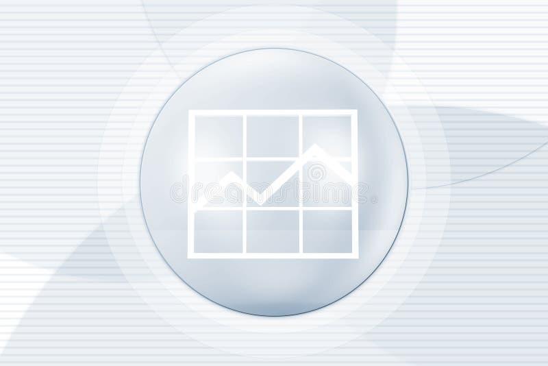 Geschäftserfolg-Hintergrund stock abbildung