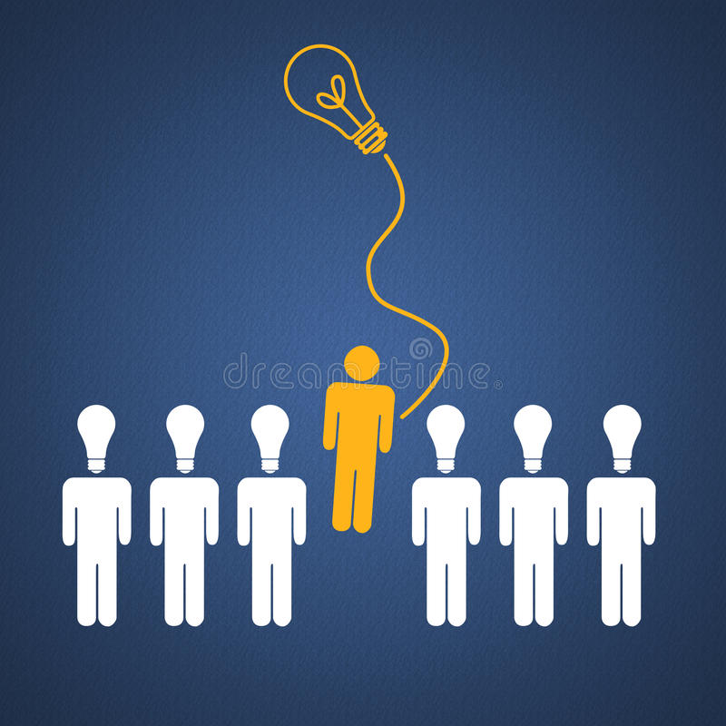 Geschäftserfolg-Teamwork lizenzfreie abbildung