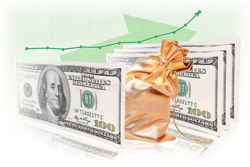 GeschäftserfolgFormelgeld-Warengeld lizenzfreie stockbilder
