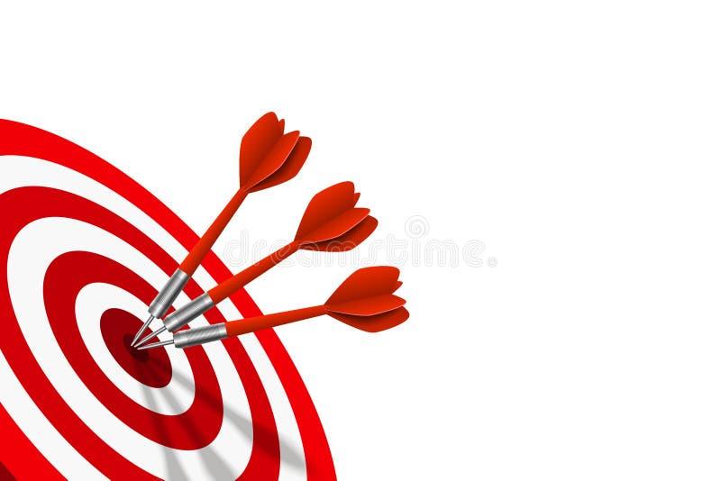 Geschäftserfolgund Strategie-Konzept stock abbildung