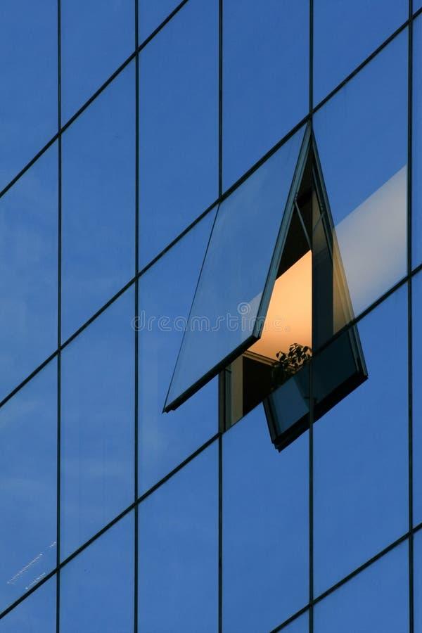 Geschäftsfenster stockfoto