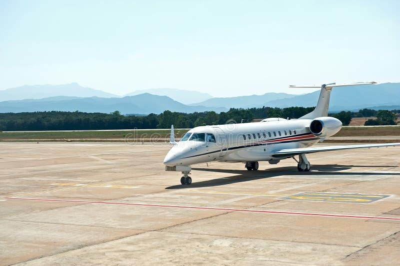 Geschäftsflugzeug lizenzfreie stockfotos