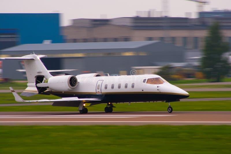 Geschäftsflugzeug lizenzfreie stockfotografie
