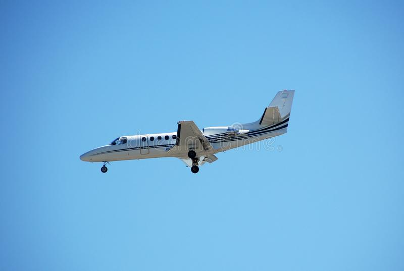 Geschäftsflugzeugfläche lizenzfreies stockfoto