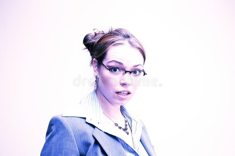 Download Geschäftsfrau überrascht stockfoto. Bild von modern, manager - 25416