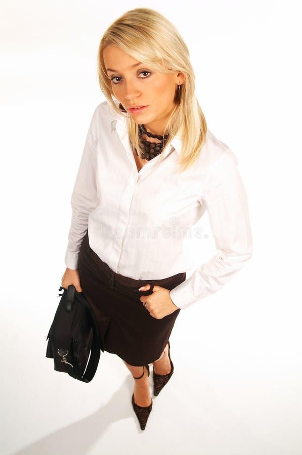 Geschäftsfrau 12 stockfotografie