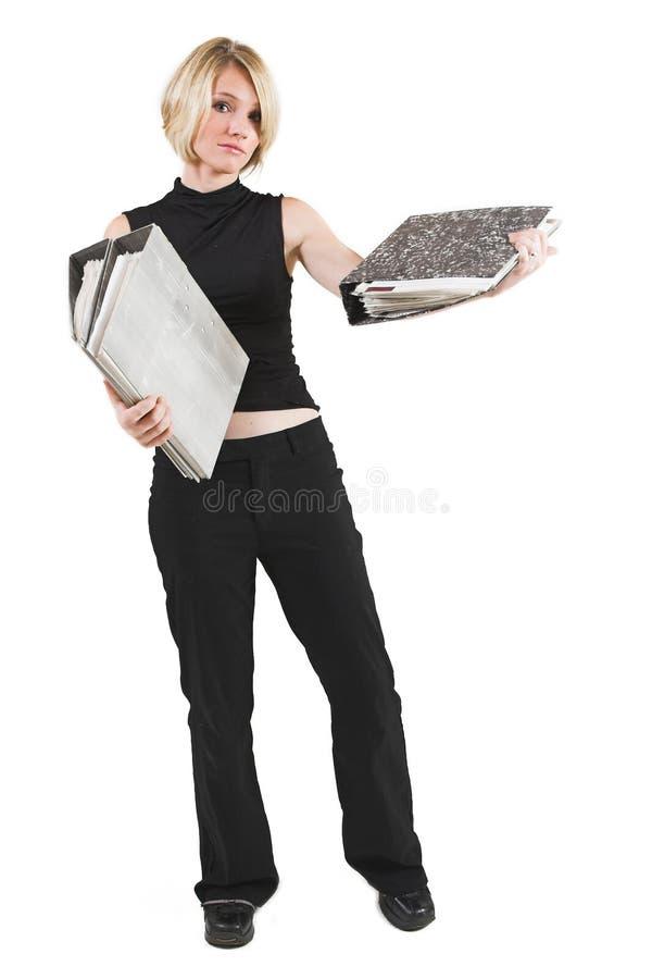 Geschäftsfrau #46 lizenzfreies stockfoto