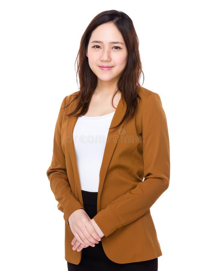 Geschäftsfrau stockbild
