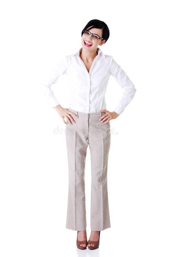 Download Geschäftsfrau Oder Kursteilnehmer In Der Eleganten Kleidung Stockfoto - Bild von schwarzes, vertrauen: 27729606