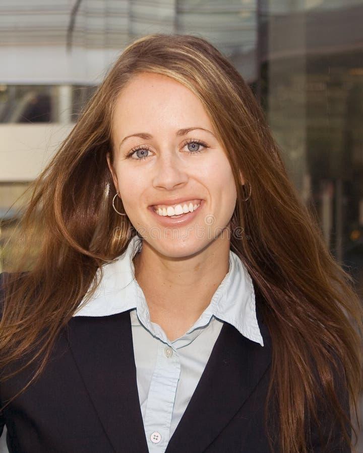 Geschäftsfrau - Portrait stockfotografie