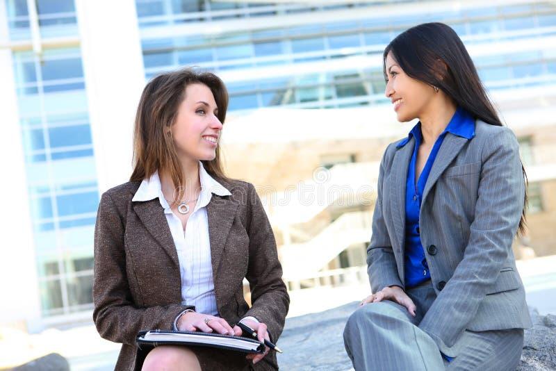 Geschäftsfrau-Team lizenzfreie stockfotografie