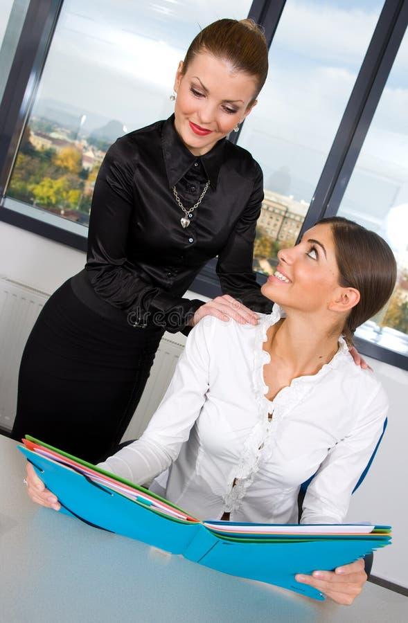 Geschäftsfrau zwei stockfoto