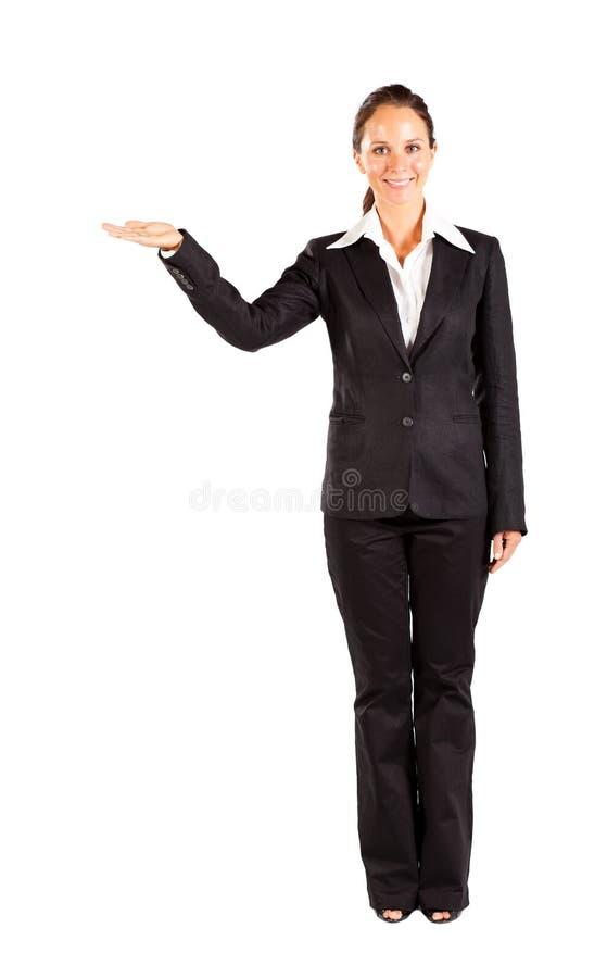 Geschäftsfraudarstellen lizenzfreies stockfoto