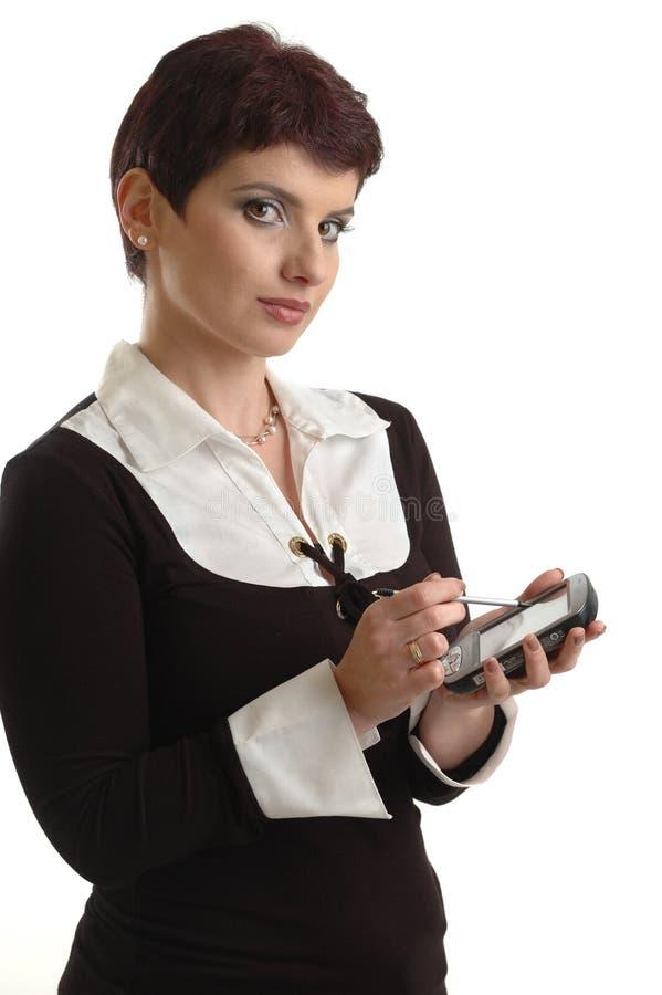 Geschäftsfrauen stellten ihren Host ein stockbilder