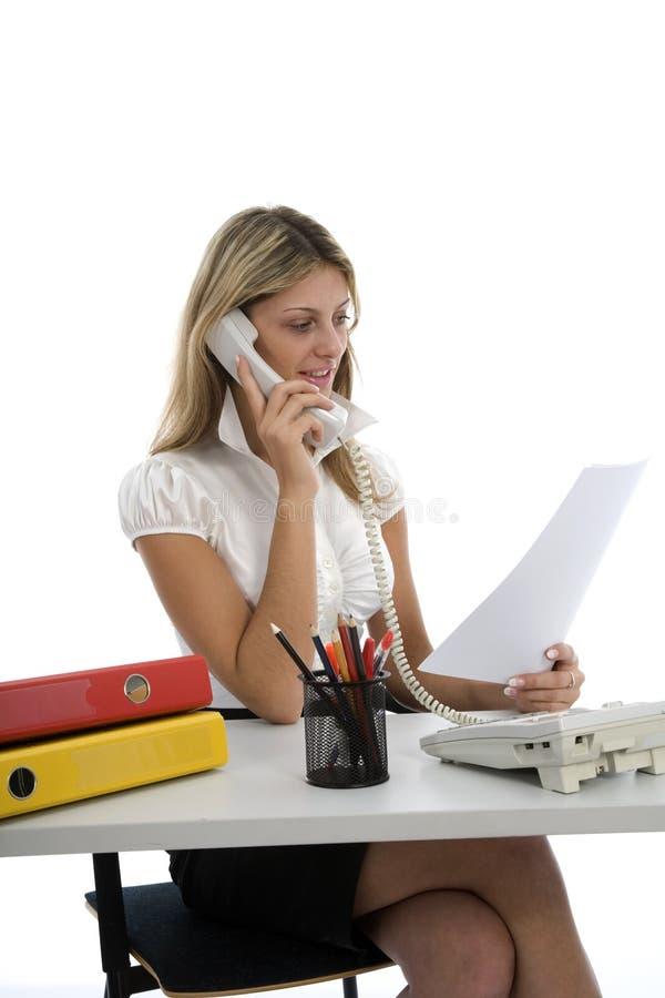 Geschäftsfraufunktion stockfoto