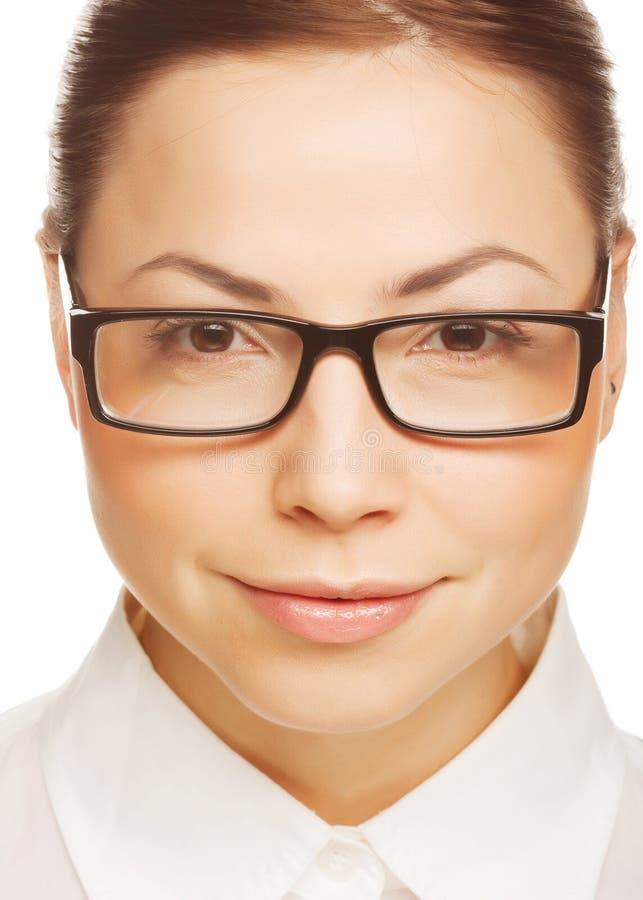 Geschäftsfrauportrait stockbild