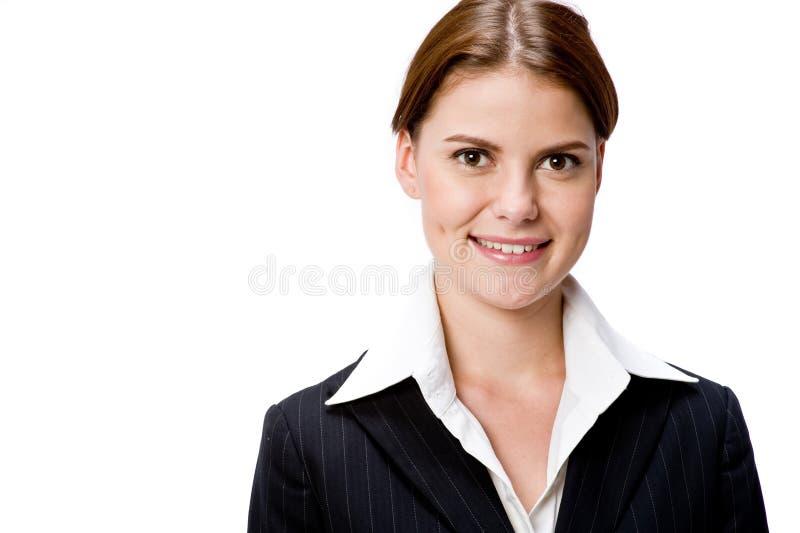 Geschäftsfrauportrait lizenzfreies stockbild