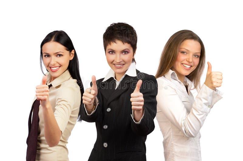 Geschäftsfrauteam lizenzfreie stockfotos