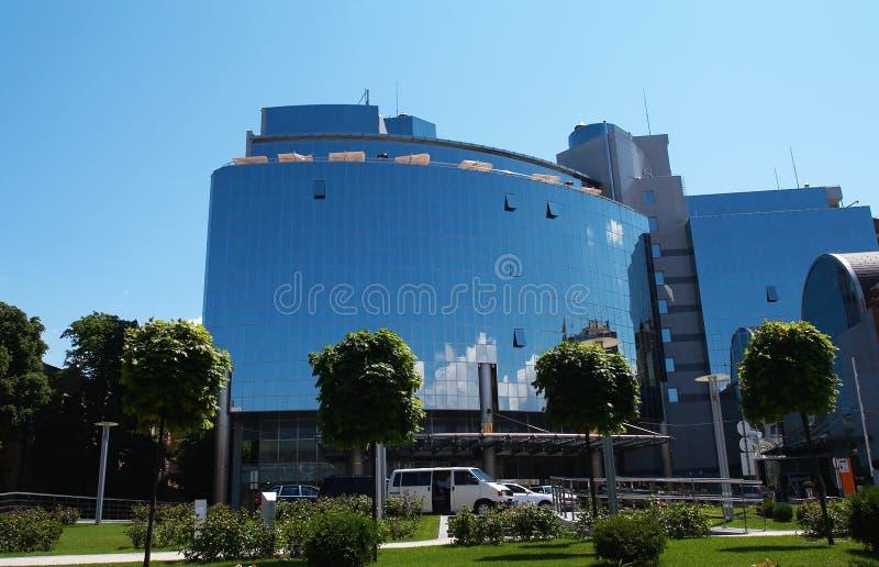 Geschäftsgebäude lizenzfreies stockbild
