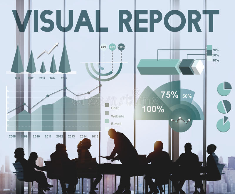 Geschäftsgewinn-Ergebnis-Analytik-Statistik-Konzept stockbild