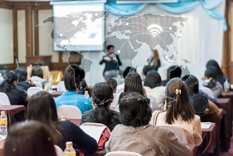 Geschäftsglobalisierungsverbindungs-Technologiekonzept: Asien-peop stockbild