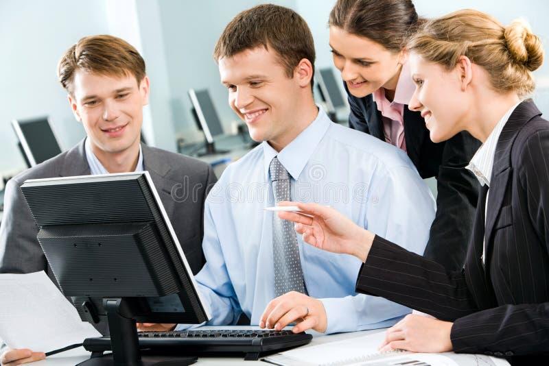 Geschäftsgruppe stockfoto
