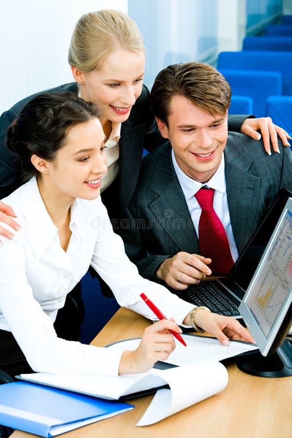 Geschäftsgruppe lizenzfreie stockfotografie