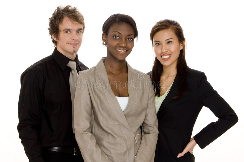 Geschäftsgruppe lizenzfreies stockfoto