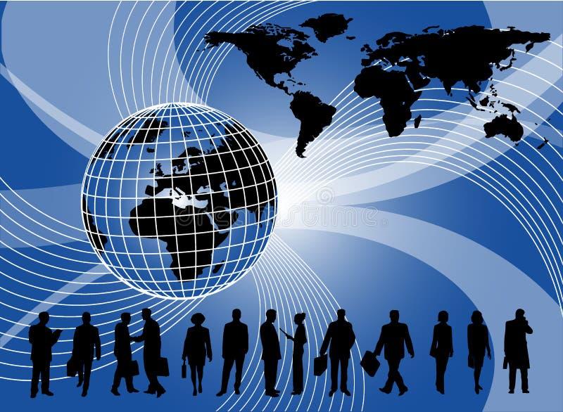 Geschäftshintergrund lizenzfreie abbildung