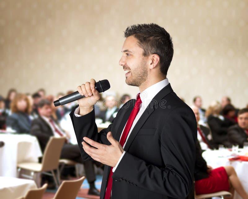 Geschäftskonferenz stockbild
