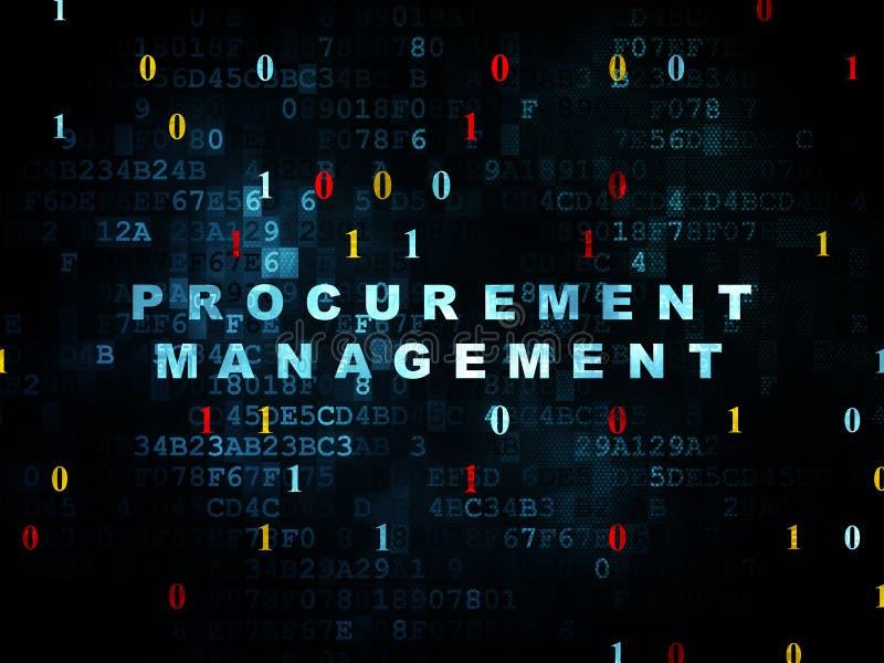 Geschäftskonzept: Beschaffungs-Management an stock abbildung