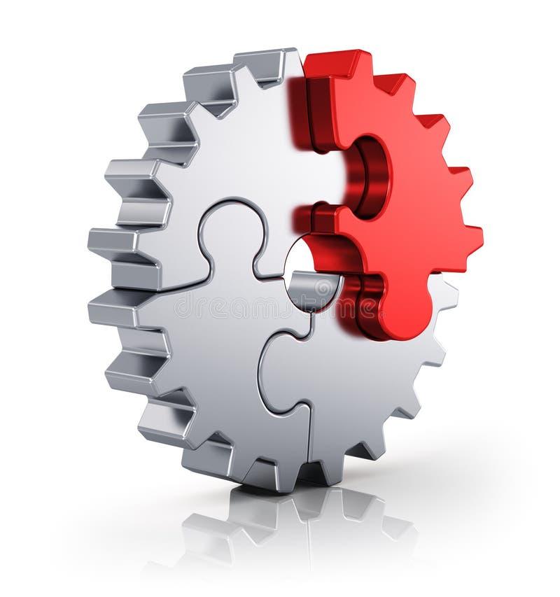 Geschäftskreativität und Erfolgskonzept lizenzfreie abbildung