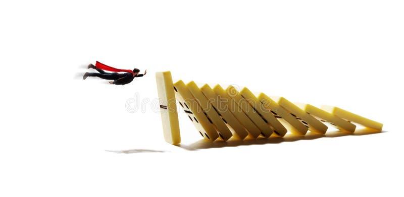 Geschäftskrisenmanagement und Lösungskonzept stockfotos